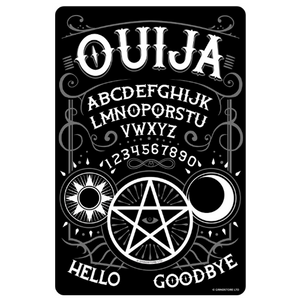Ouija Board Mini Tin Sign