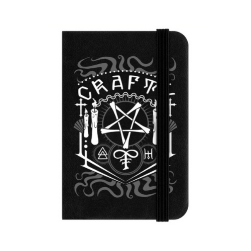 Crafty Witch Mini Hard Cover Lined Notebook