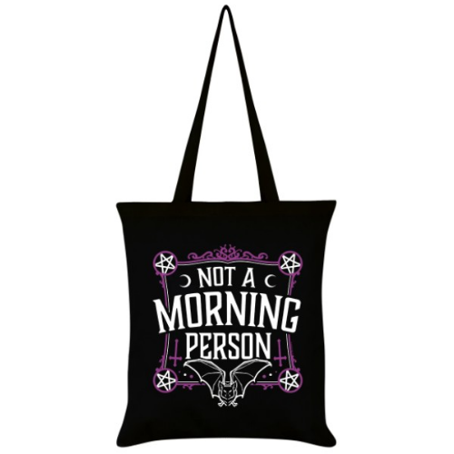 'Not a Morning Person' Tote Bag