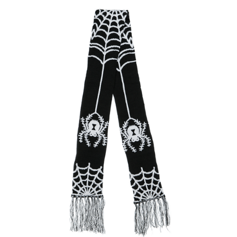 Sourpuss Spider Knit Scarf