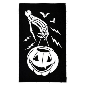 Trick or Treat Skeleton Pumpkin Bucket Patch