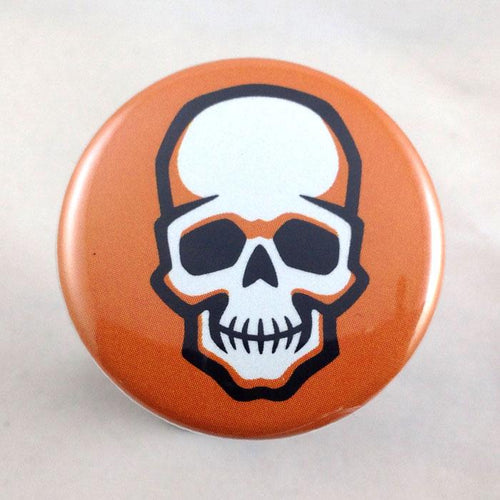 Skull - Choose from Badge or Magnet