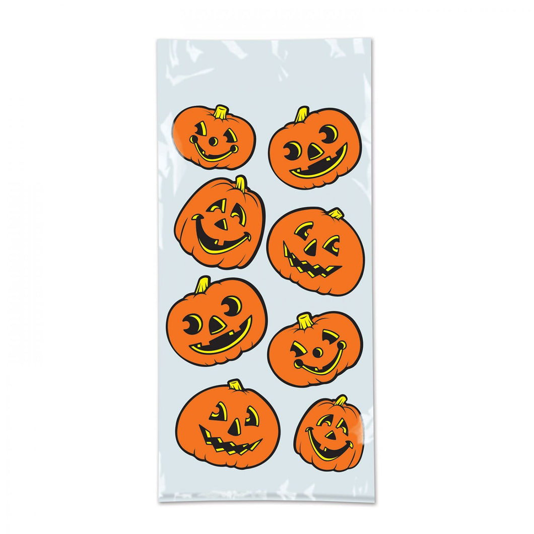 Beistle Jack o' Lantern Party Bags - Pack of 25