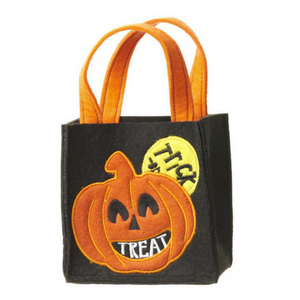 Trick or Treat Felt Bag