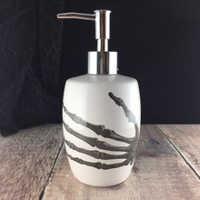 Load image into Gallery viewer, Skeleton China Handwash Soap Dispenser