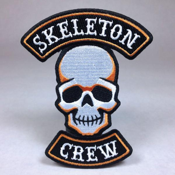 Skeleton Crew Biker Patch