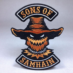 Sons of Samhain Scarecrow Biker Patch