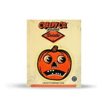 Load image into Gallery viewer, Creepy Company Beistle Scaredy Jack O Lantern Patch