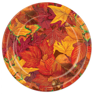 Autumn/Fall Leaves Paper Plates