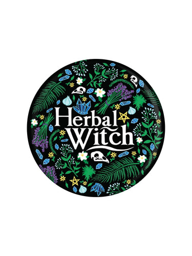 Herbal Witch Badge