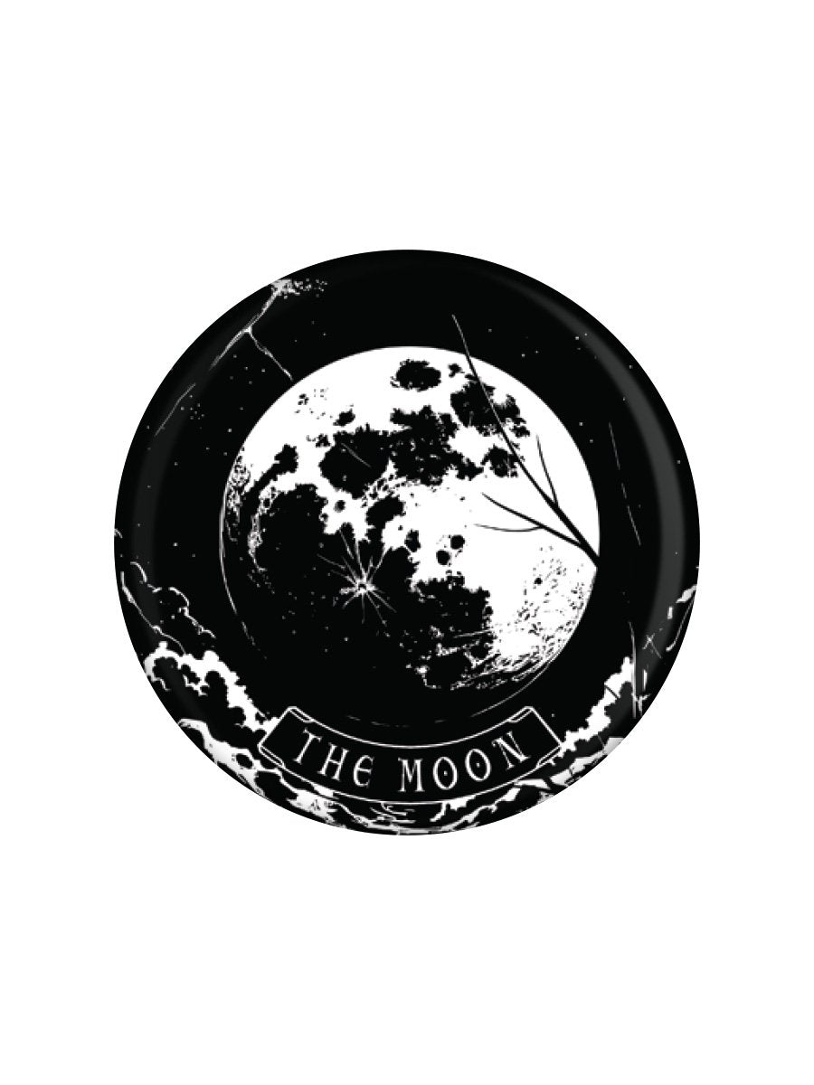 Tarot Moon Badge