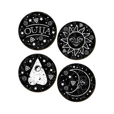 Ouija Coasters - Set of 4