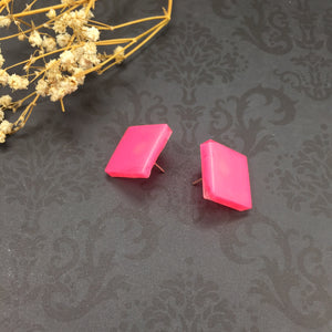 15mm Square Earrings