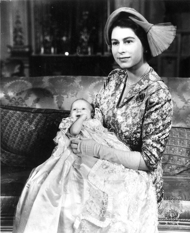 Queen and baby Ann