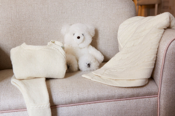 Cashmere Product and Teddy Bear