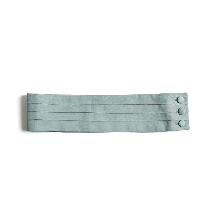 Teal Linen Pageboy Cummerbund - Belt - PEPA AND CO