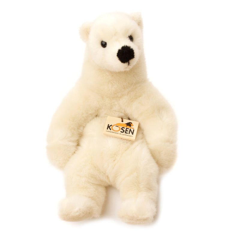 Polar Bear Sitting Toy - Toy - PEPA AND CO
