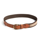 Brown Striped Belt - Belt & Braces - PEPA AND CO
