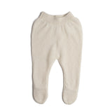 White Cashmere Set with Jumper and Trousers - Set - PEPA AND CO