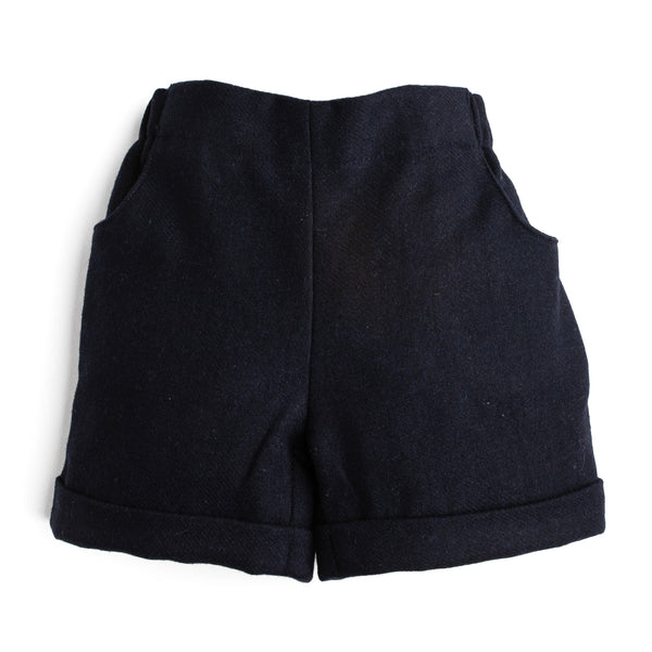 Classic Baby Boy Navy Shorts - Shorts - PEPA AND CO