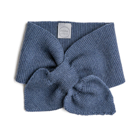Blue Knitted Winter Scarf - KNITTED ACC - PEPA AND CO