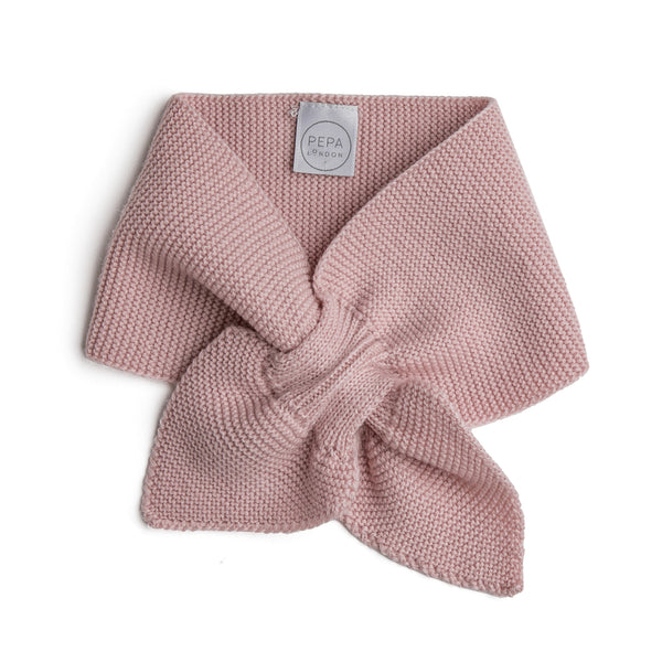 Pink Knitted Winter Scarf - KNITTED ACC - PEPA AND CO
