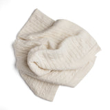 White Cashmere Pram Blanket - Blanket - PEPA AND CO
