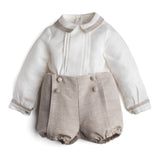Beige Linen Celebration Set - Set - PEPA AND CO