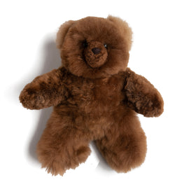 Brown Teddy Bear (100% Alpaca Fur) - Toy - PEPA AND CO