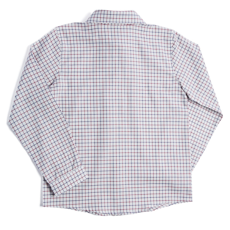 Classic Red & Blue Checked Shirt - SHIRT - PEPA AND CO