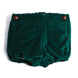 Green Velvet Bloomers - BLOOMER - PEPA AND CO