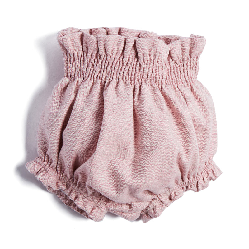 Classic Pink Cotton Bloomers - BLOOMER - PEPA AND CO