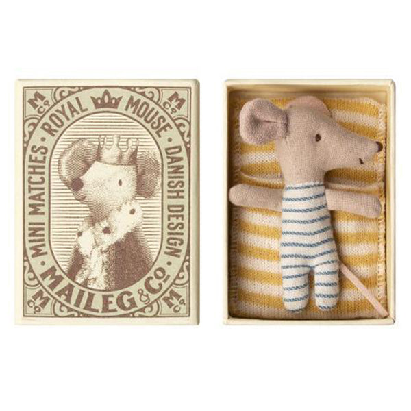 Baby Boy Mouse in Box - Toy - PEPA AND CO