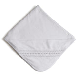 Off-White Towel with Grey embroideries - Towel - PEPA AND CO