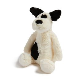 Bashful Black & Cream Puppy - Toy - PEPA AND CO