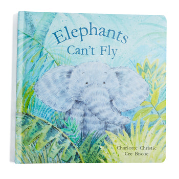 Elephants Can't Fly Book - Toy - PEPA AND CO