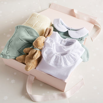 Knitted Green 6 Piece Gift Set - Gift Set - PEPA AND CO