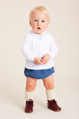 Classic Blue Bloomers - BLOOMER - PEPA AND CO