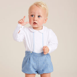 Classic Blue Shirt & Bloomer Set - SET - PEPA AND CO