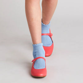 Openwork short socks - Blue - Socks - PEPA AND CO