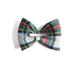 Tartan Red Bow Clip - HAIR ACCESSORIES - PEPA AND CO