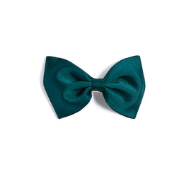 Emerald Green Bow Clip - HAIR ACCESSORIES - PEPA AND CO