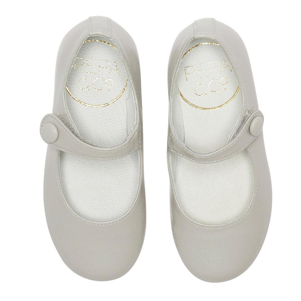 Girl's Mary-jane stone leather shoes