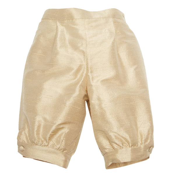 Pageboy's beige silk knickerbockers - Trousers - PEPA AND CO