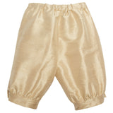 Beige Silk Pageboy Knickerbockers - Trousers - PEPA AND CO