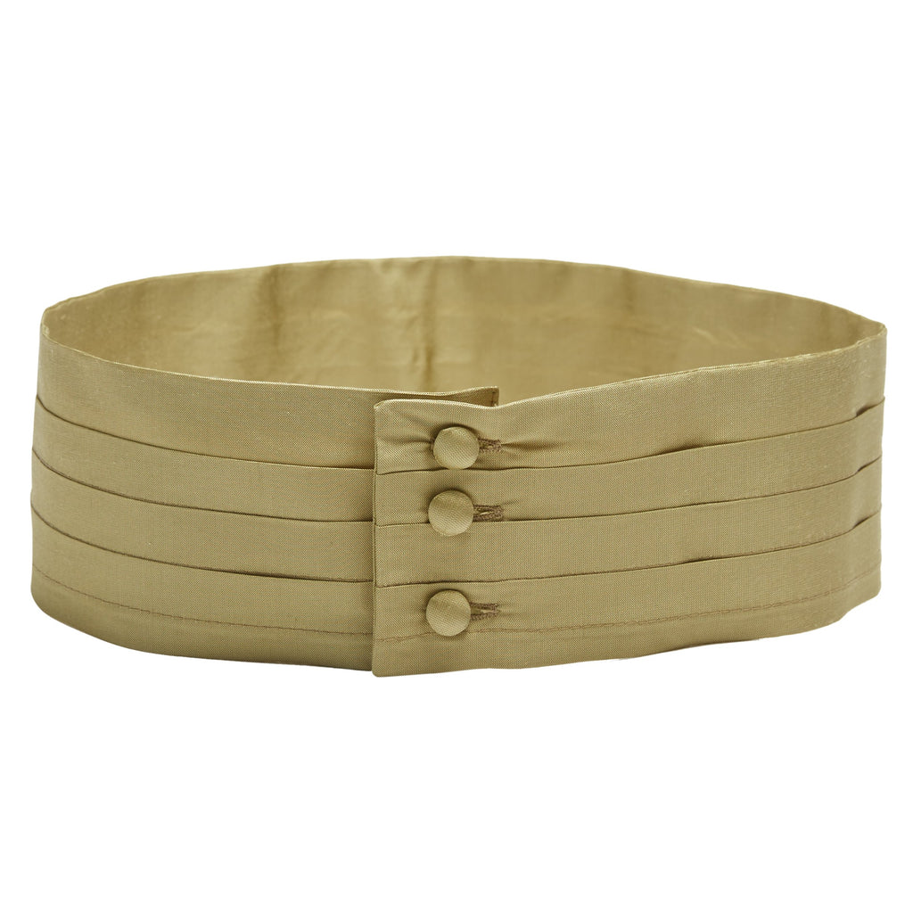 Pageboy's green silk cummerbund - Belt - PEPA AND CO