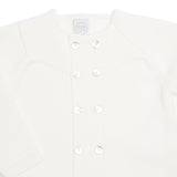 Boys Celebration Cardigan Ivory - Cardigan - PEPA AND CO