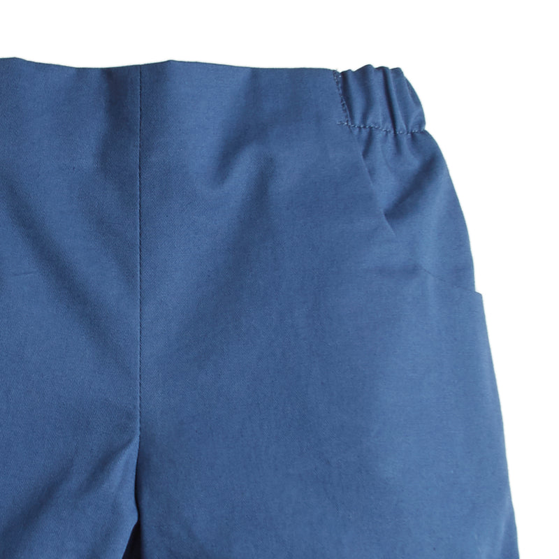 Classic Cotton Baby Shorts Blue