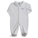 Newborn Hand Embroidered Set Blue - Set - PEPA AND CO