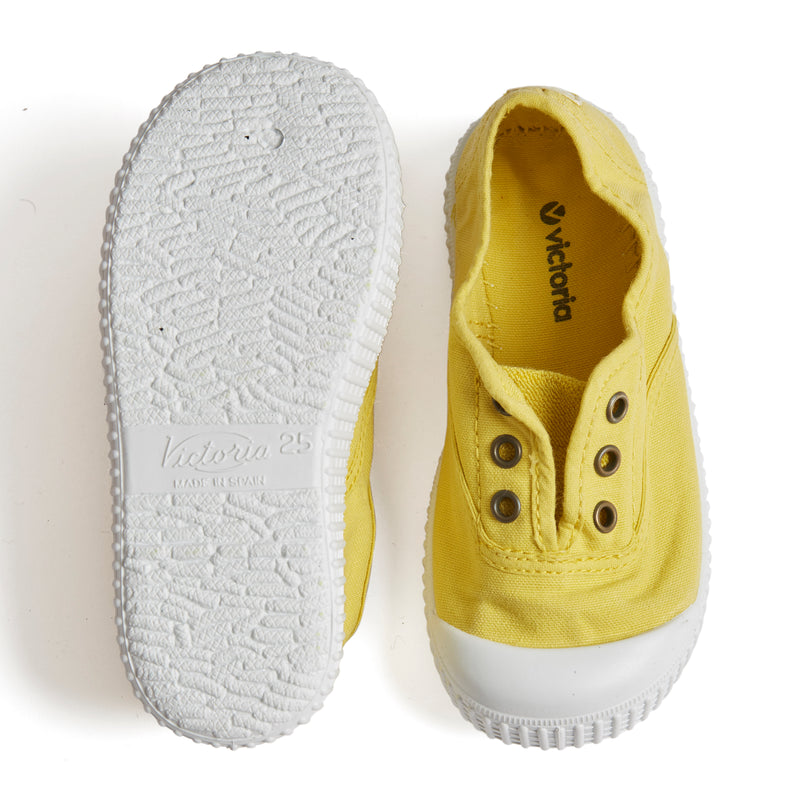 Yellow Plimsolls - Shoes - PEPA AND CO